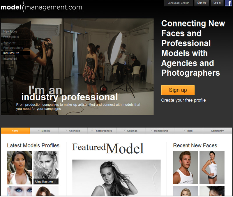 modelmanagement Inicindose en el trabajo con Modelos