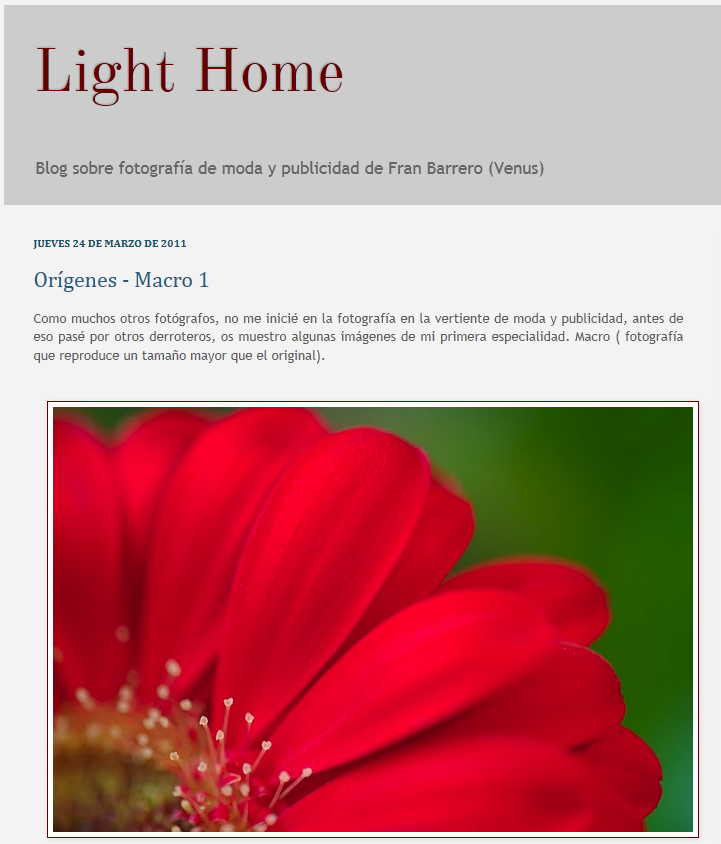 LightHome Light Home   Blog fotogrfico de Fran Barrero
