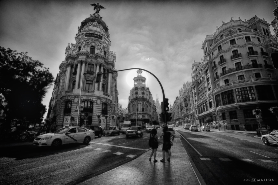 Madrid by Julio Mateos Photography Una calle de Madrid